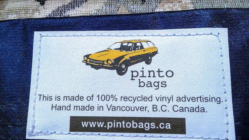 Awww, thanks Pinto Bags!