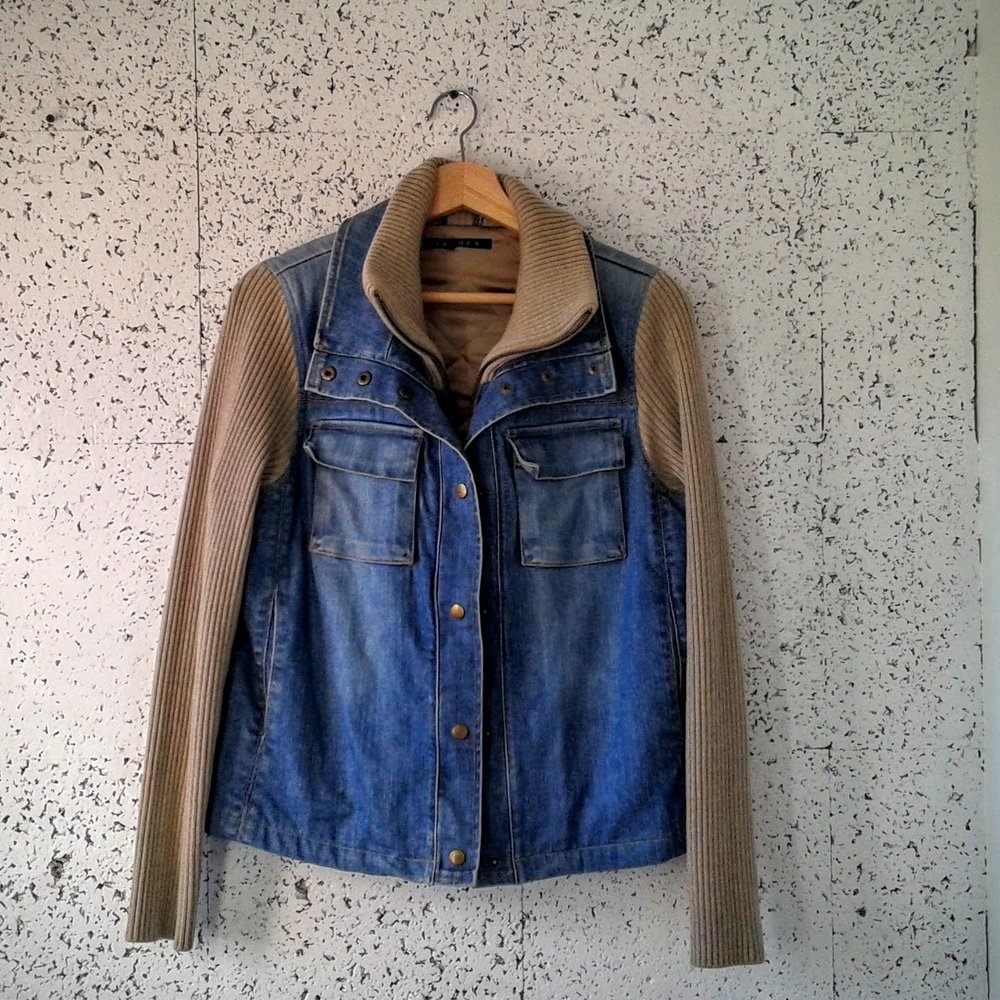 Theory jacket; Size M, $62