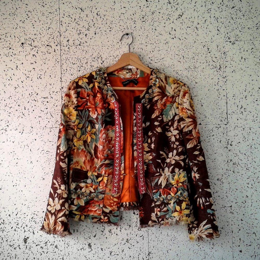 Dolce & Gabbana jacket; Size M, $89