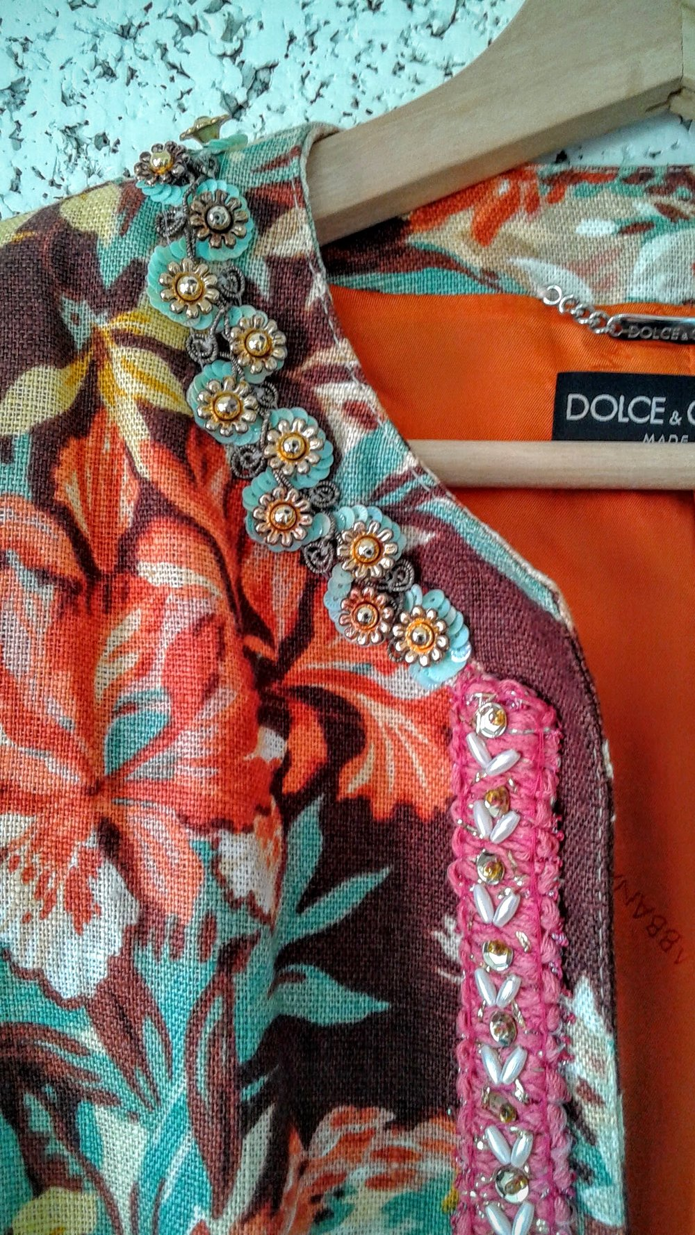 Dolce and Gabban beading