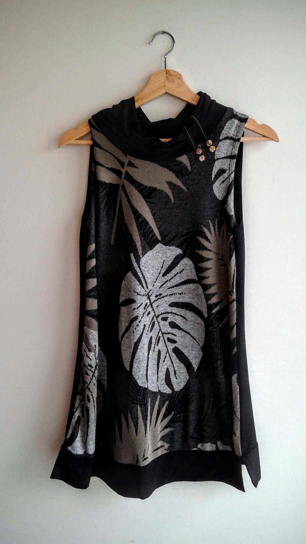 Philodendron tunic; Size S, $22