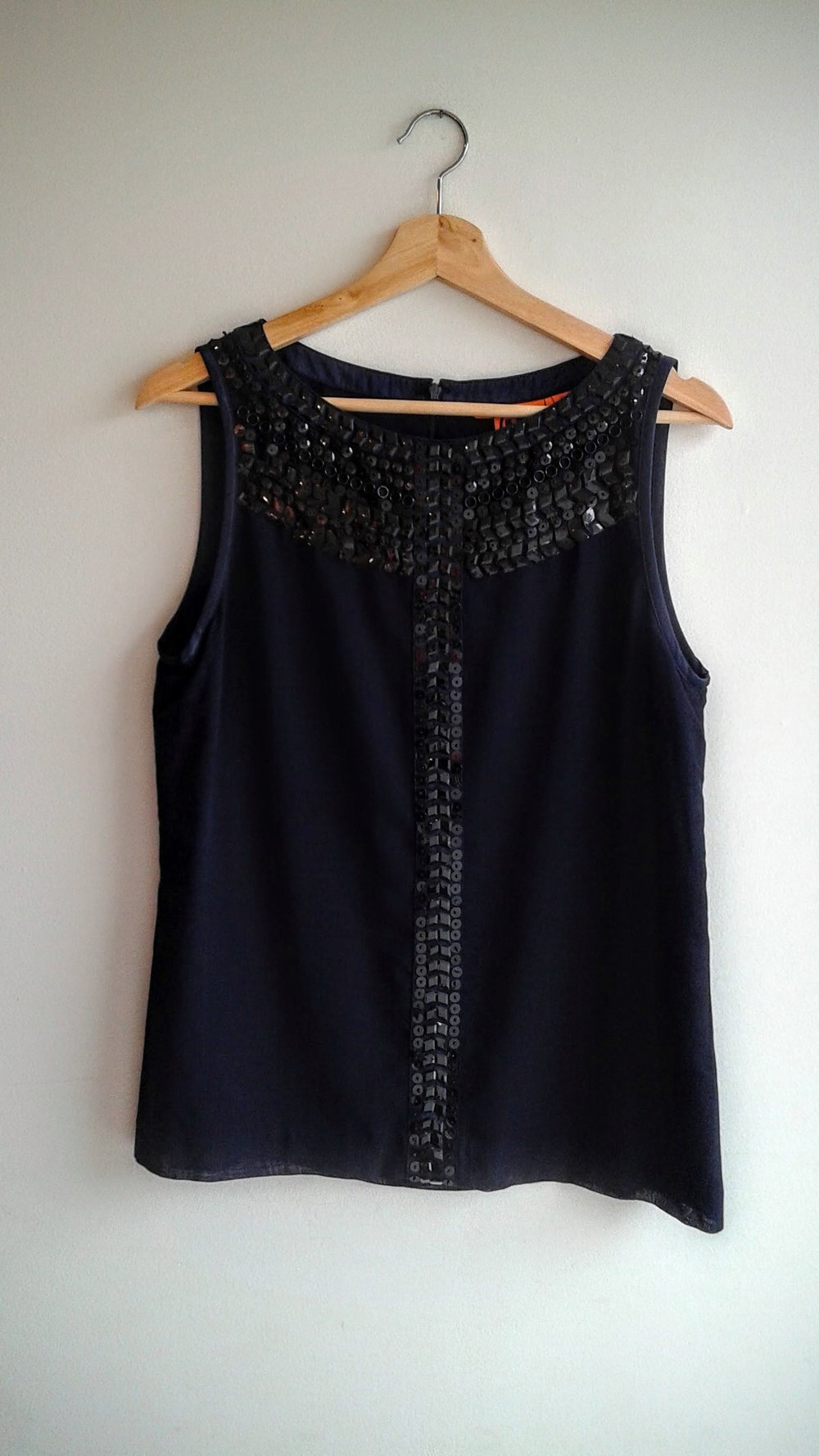 Tory Burch top; Size 10, $42