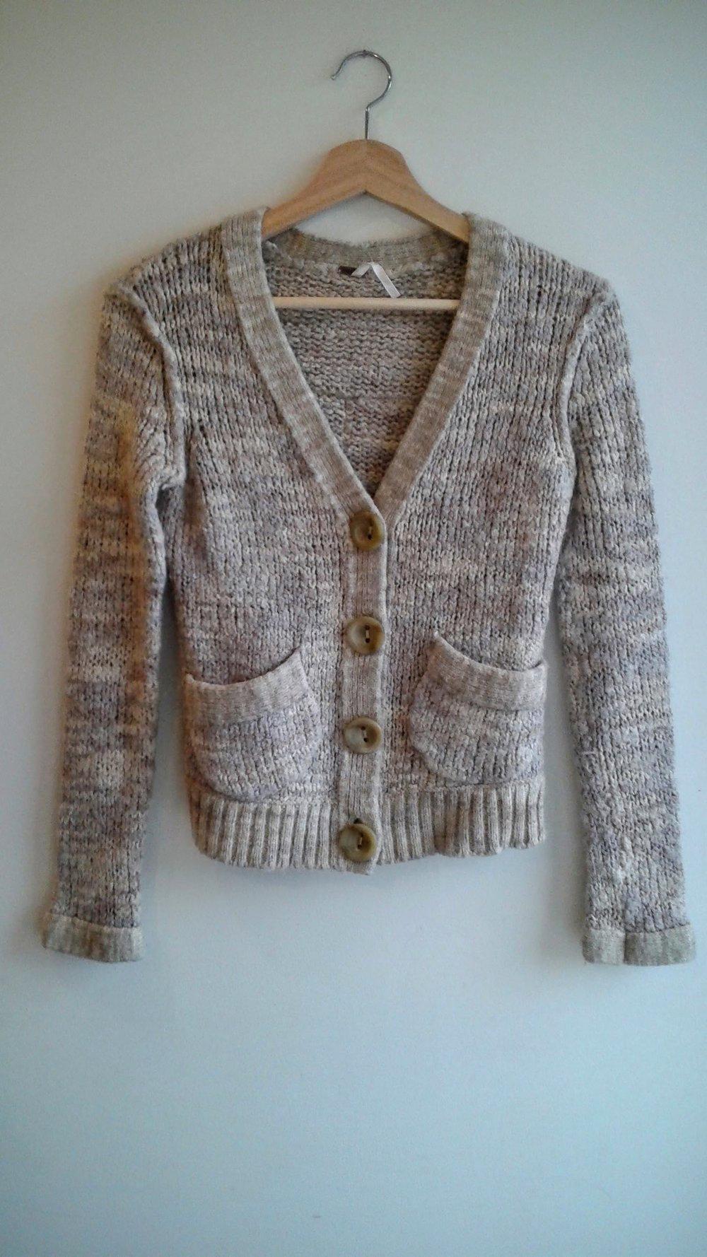 Free People sweater; Size S, $40