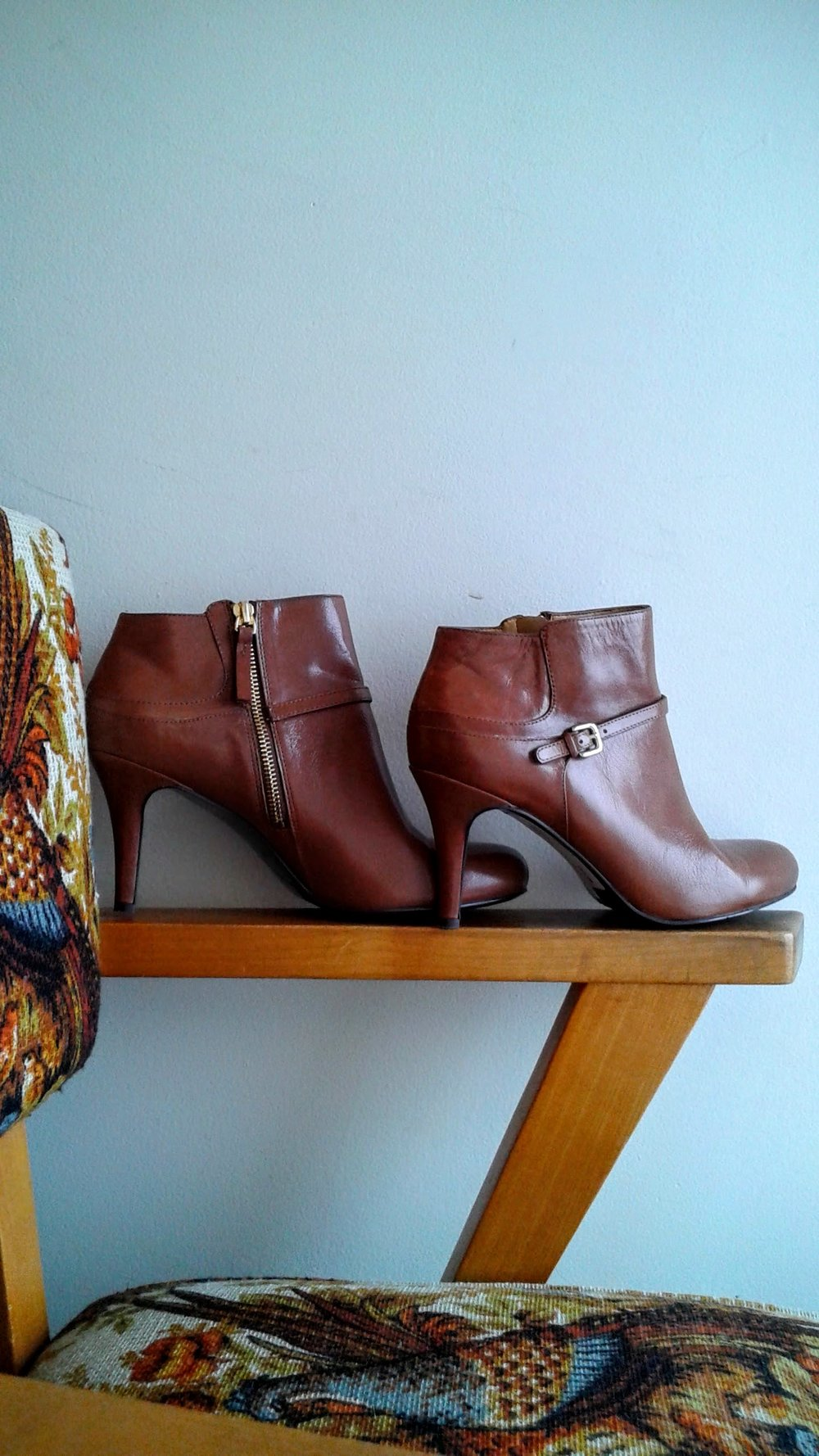 Nine West booties; S9, $60