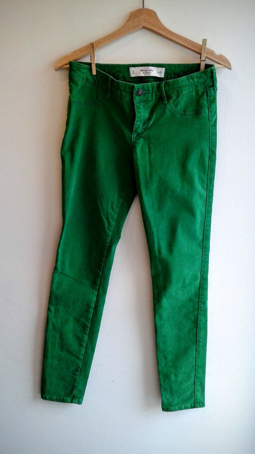 Abercrombie&Fitch pants; S27, $30