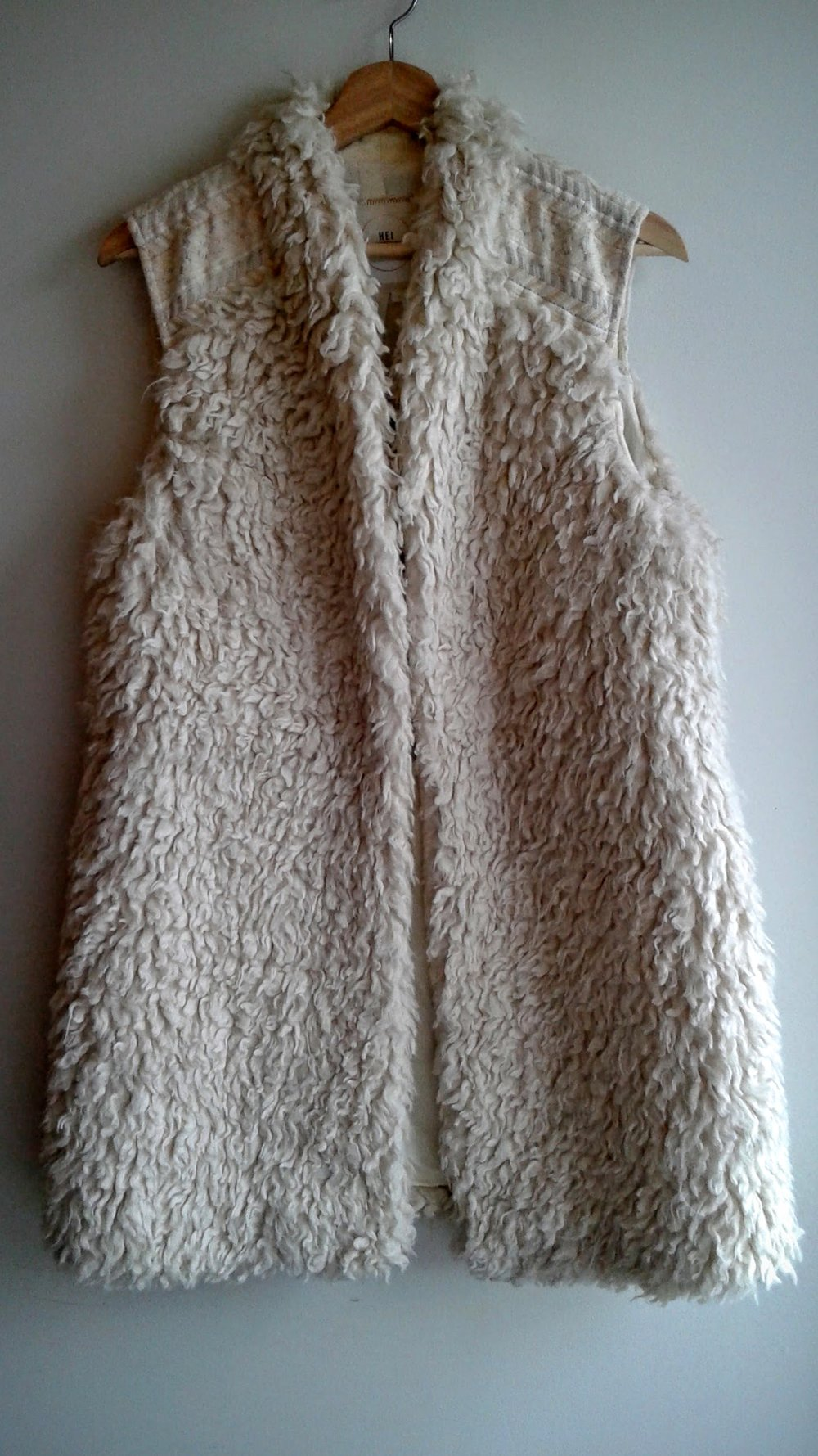Hei Hei vest (NWT); Size M, $48