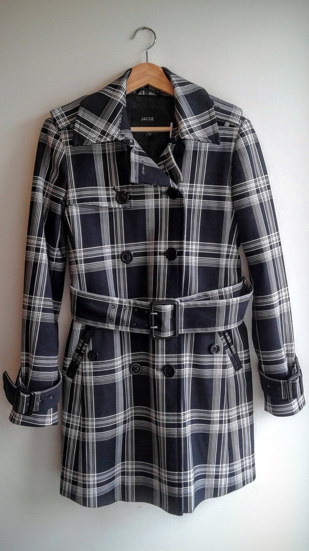 Jacob coat; Size S, $78