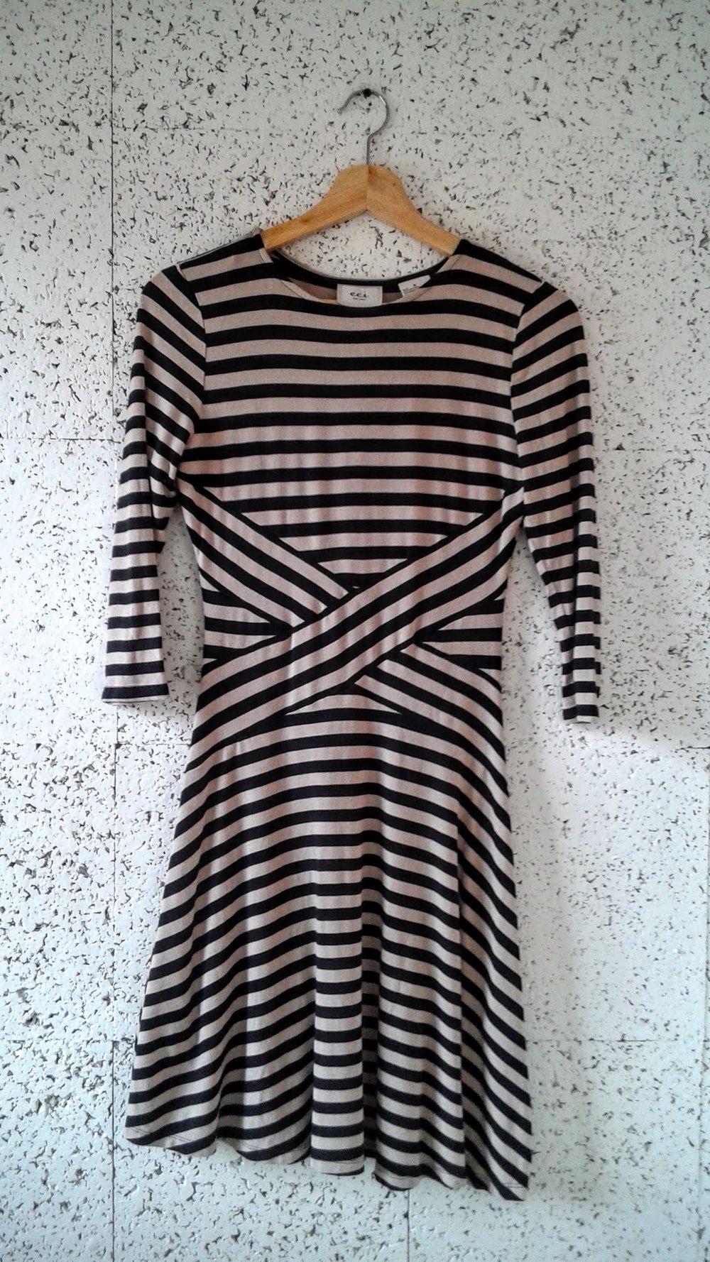Eci  dress; Size S, $32