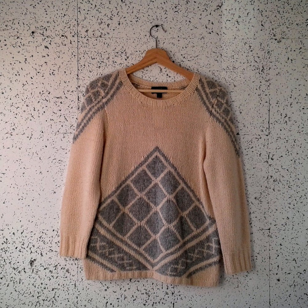 JCrew sweater; Size M, $36