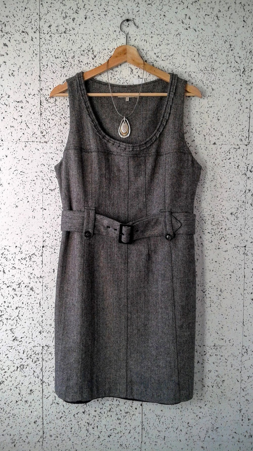 RW&Co dress, Size 10, $30; Necklace, $18
