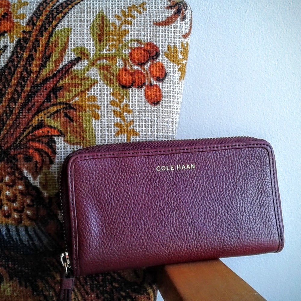 Cole Haan wallet, $42