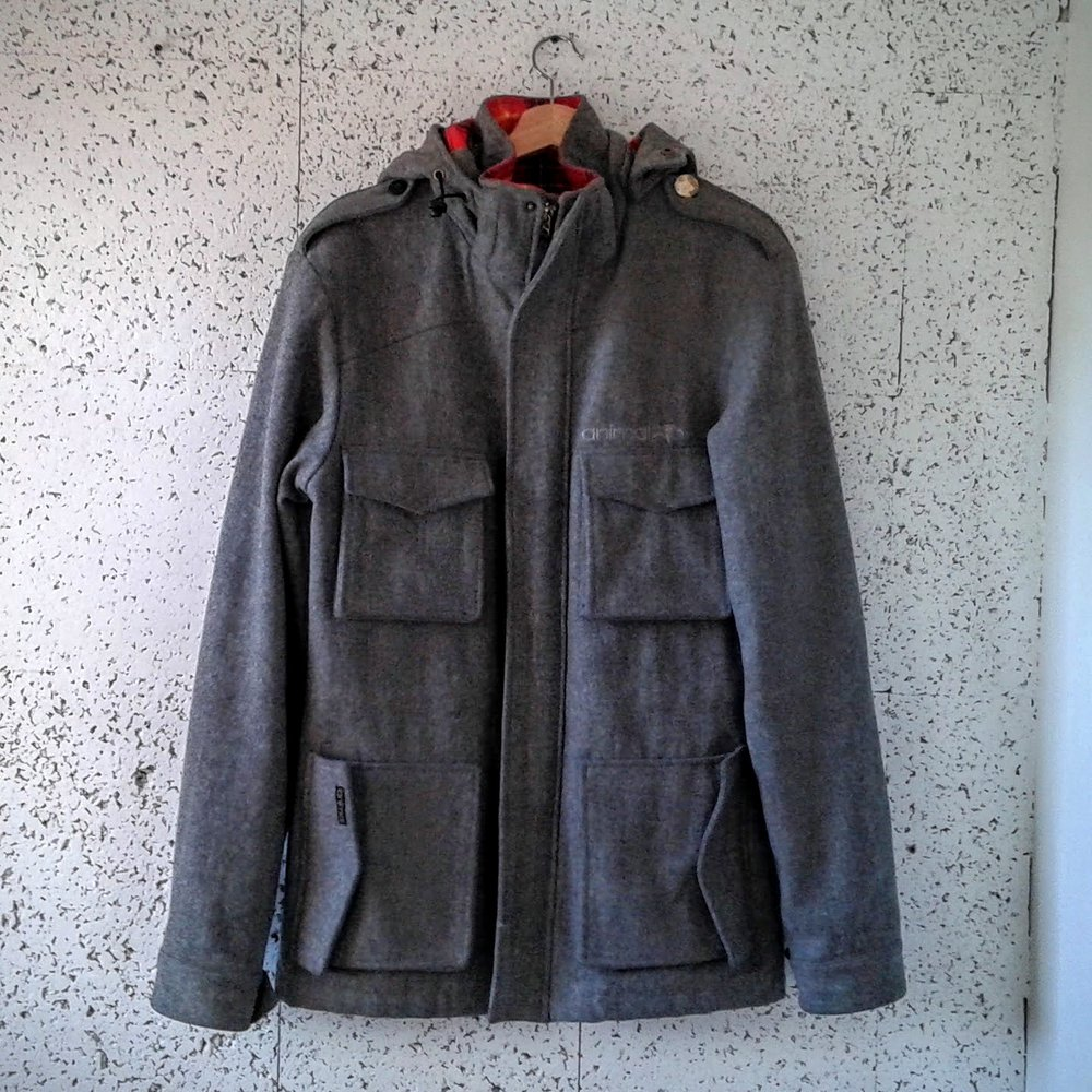 Animal Bikes  coat; Size L, $85