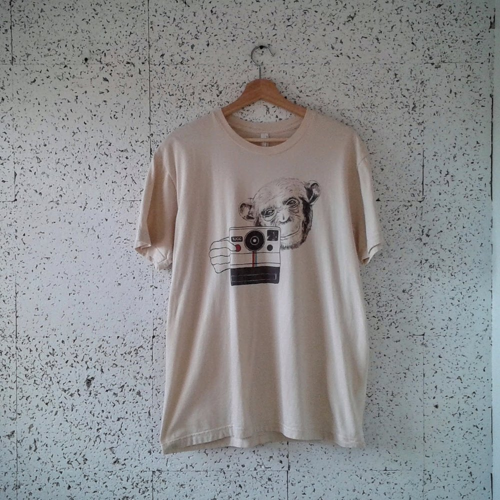Polaroid Monkey men's shirt; Size L, $16