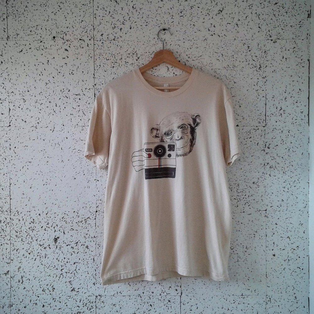 Polaroid Monkey men's shirt; Size L, $16