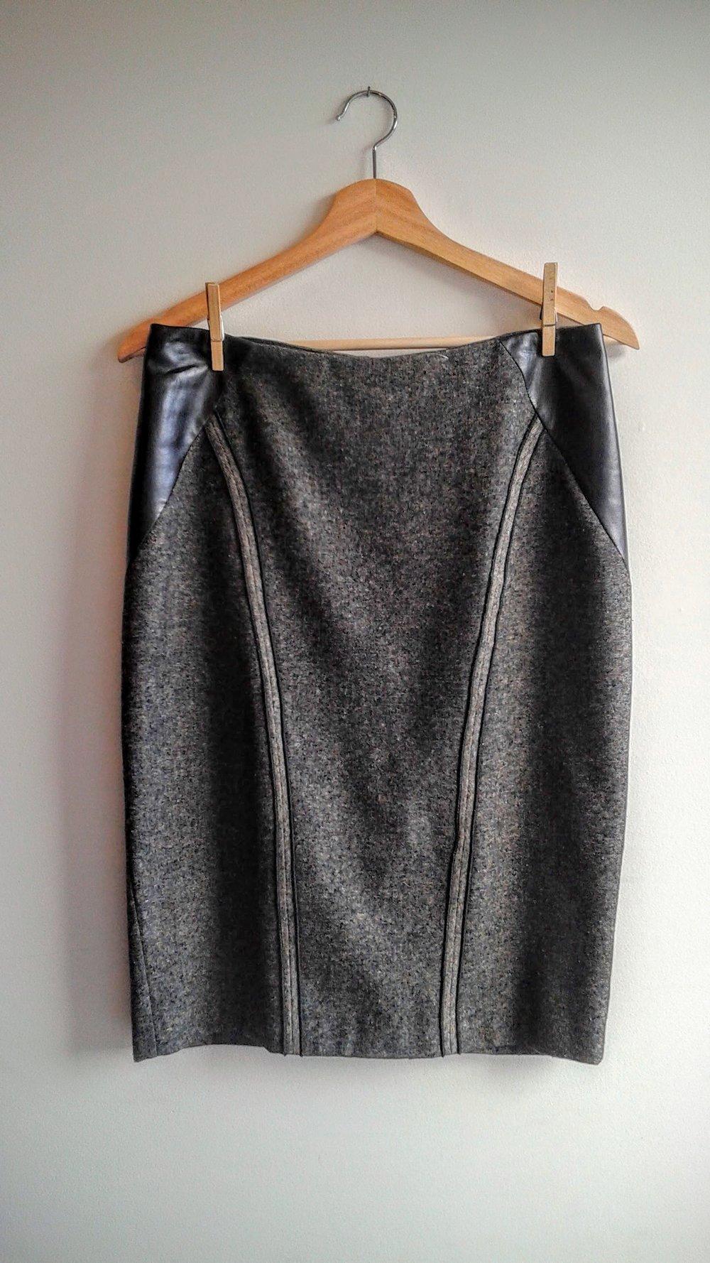 Iris Setlakwe skirt; S4, $22