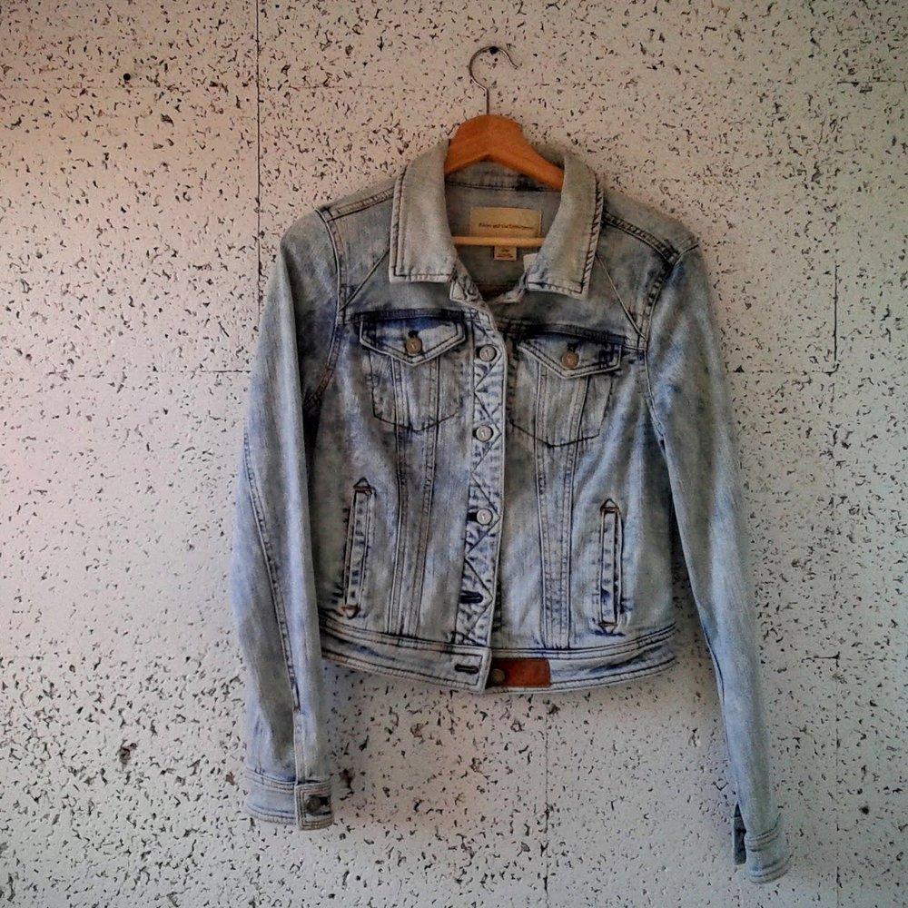 Pilcro jacket; Size M, $48