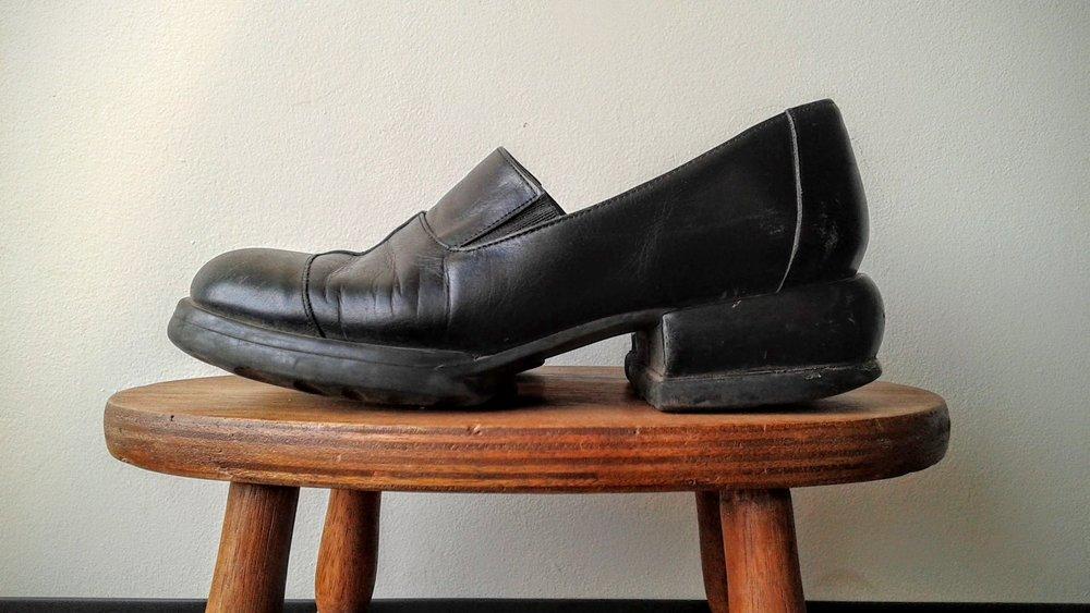 Fluevog shoes; S7.5, $32