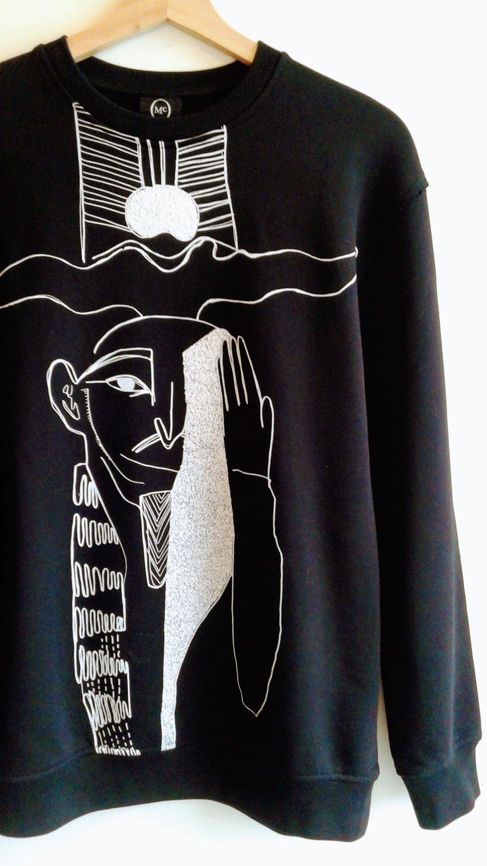 Alexander McQueen sweater; Size M, $165