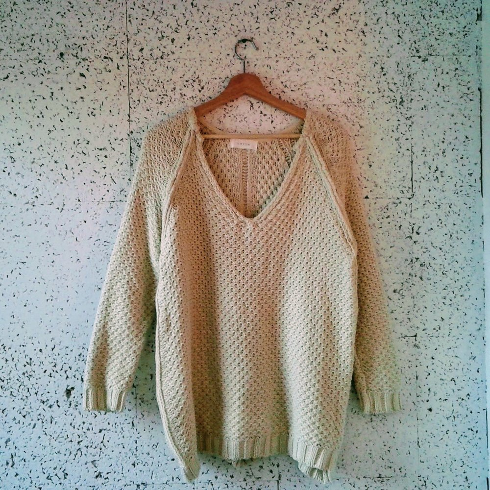 Loft 82 sweater; Size M, $42