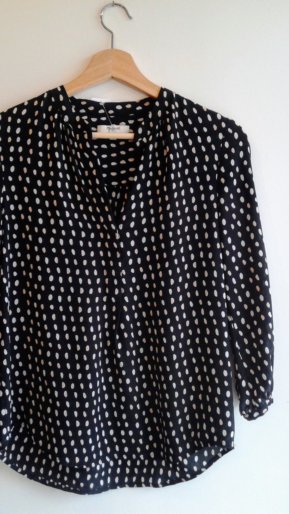 Madewell shirt; Size S, $28