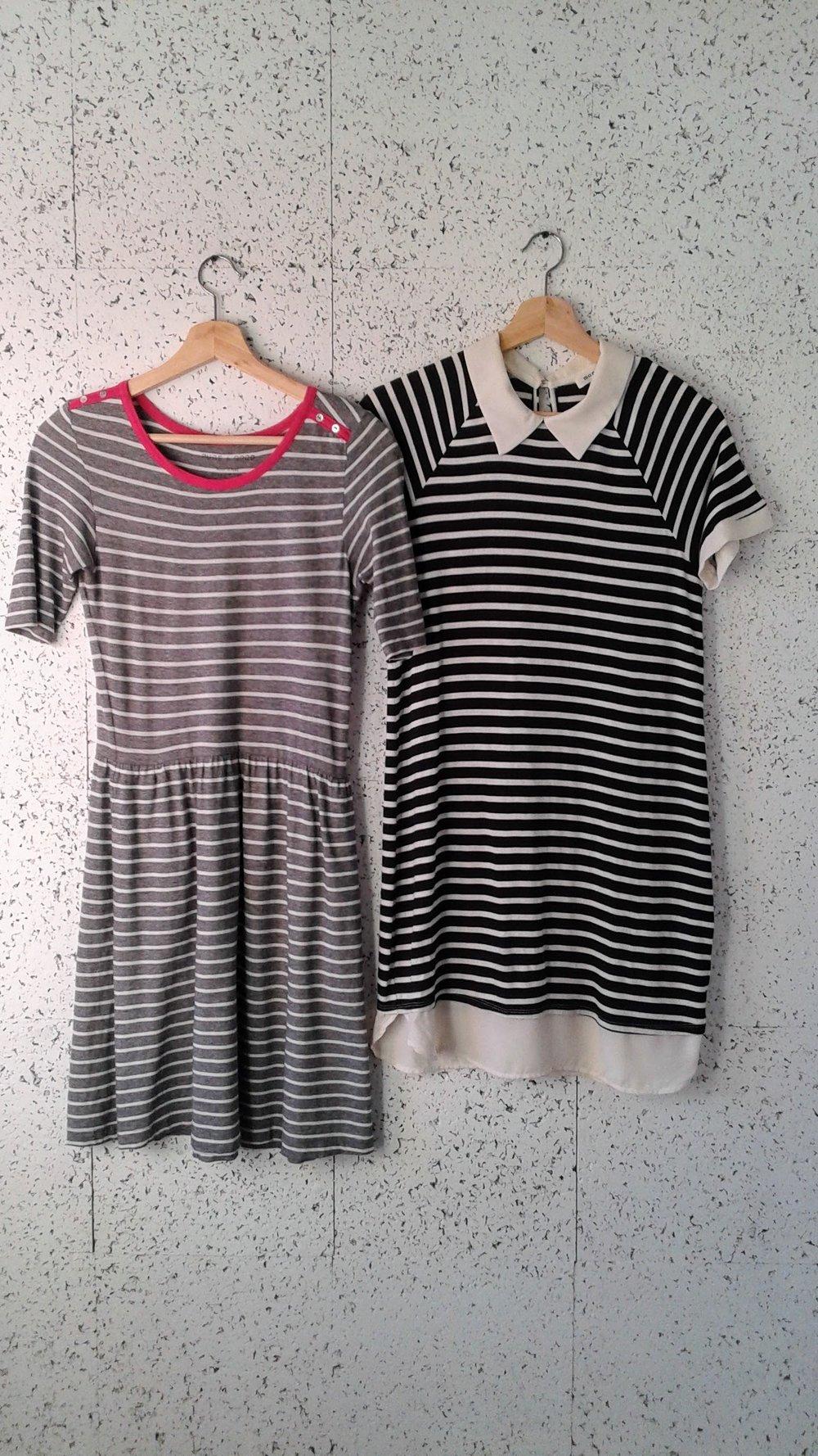 Pure+Good dress; Size S, $26. Monteau dress; Size M/L, $28