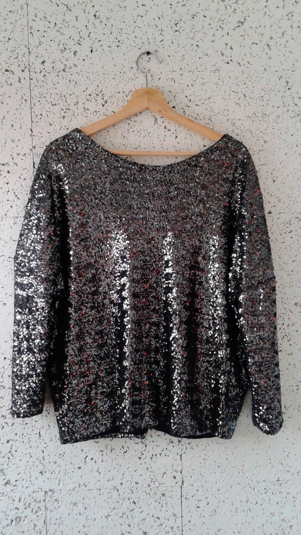 Zara top; Size M, $30