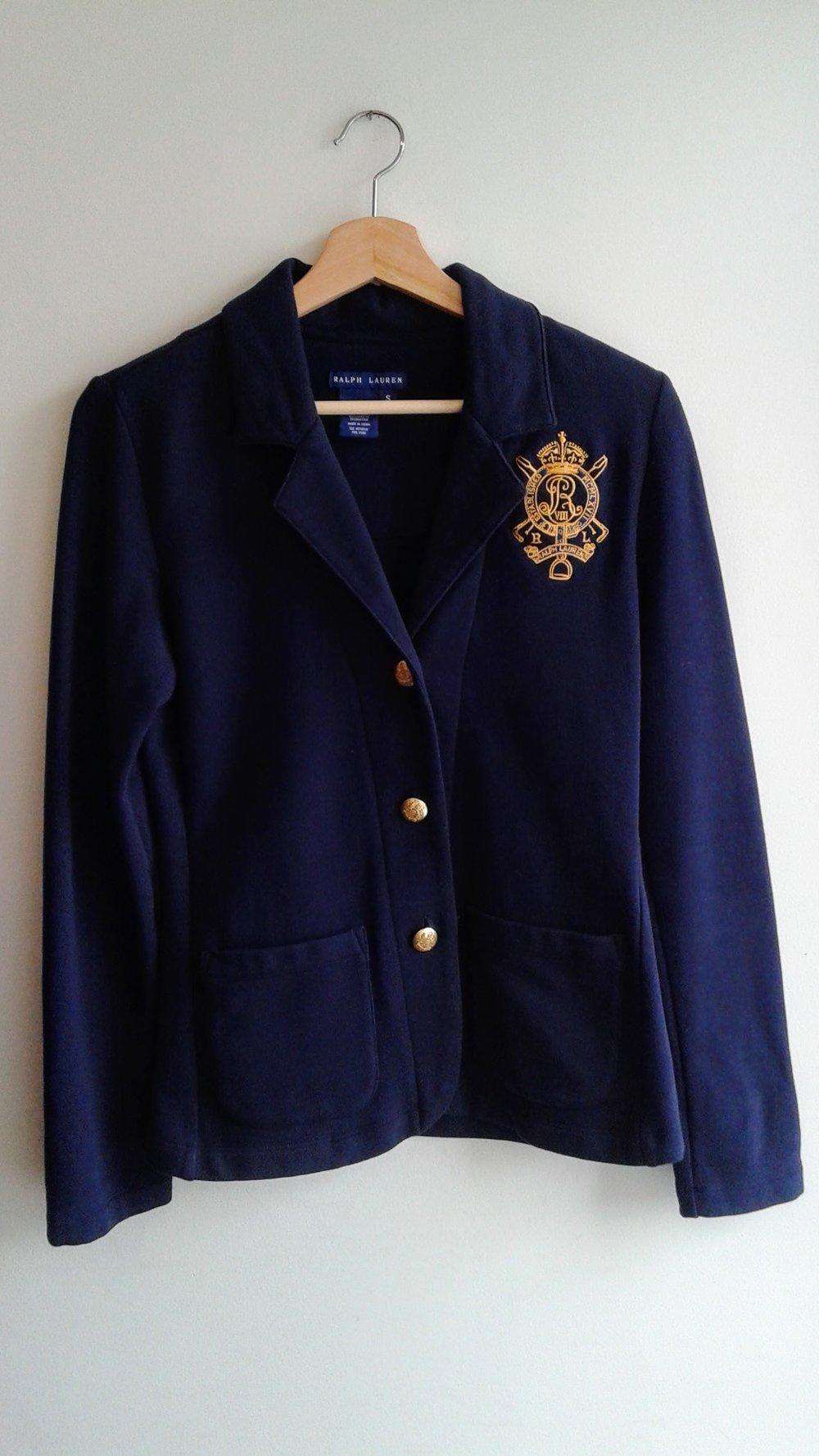 Ralph Lauren blazer; Size S, $46