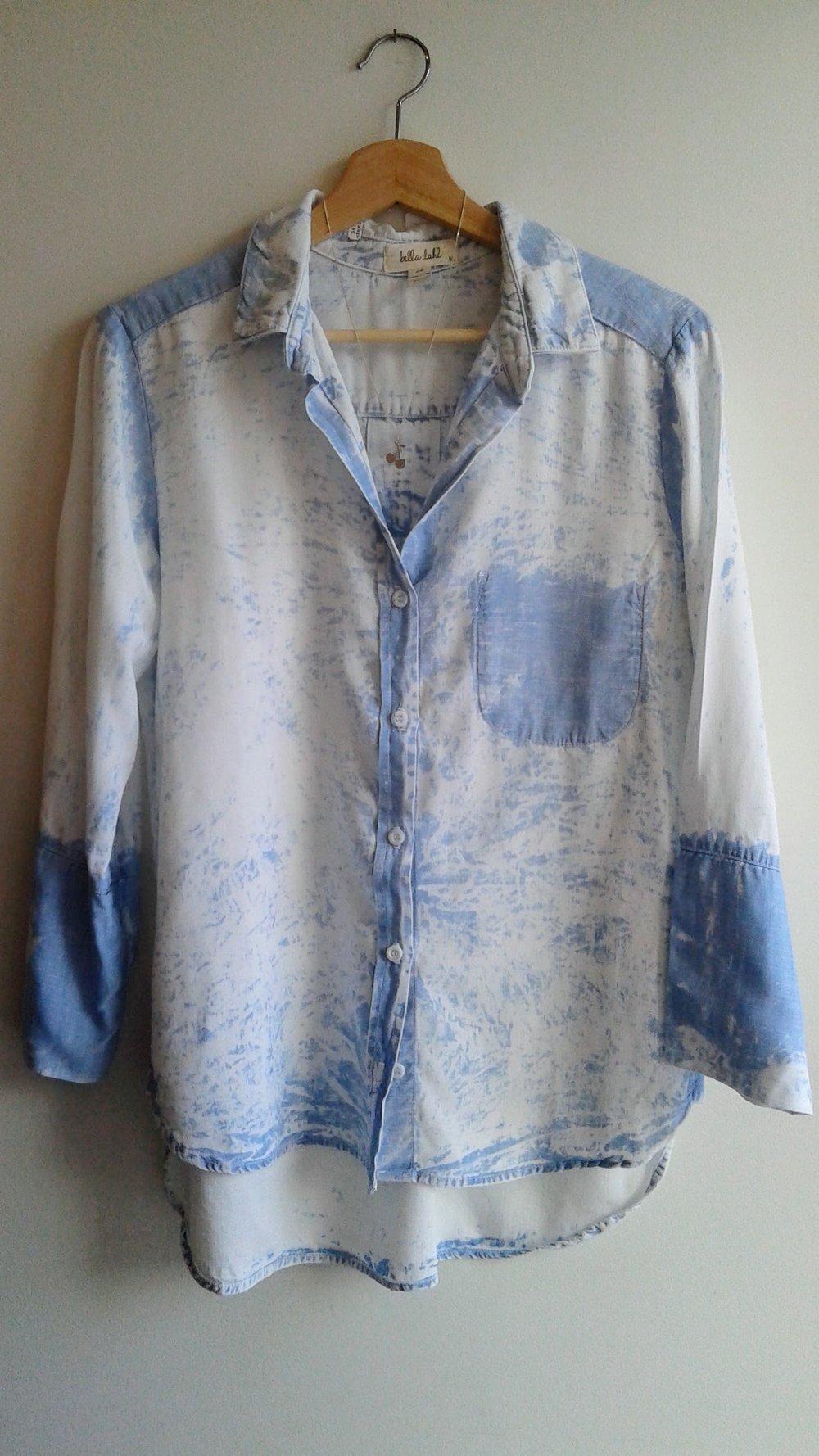 Bella Dahl  top; Size M, $30