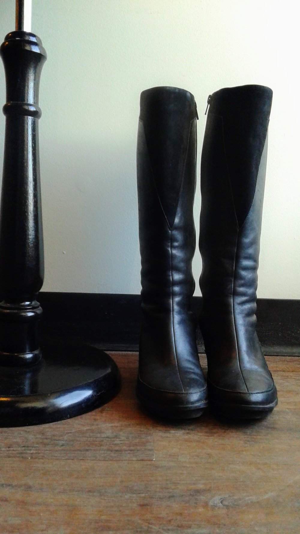 Camper boots; S7, $68