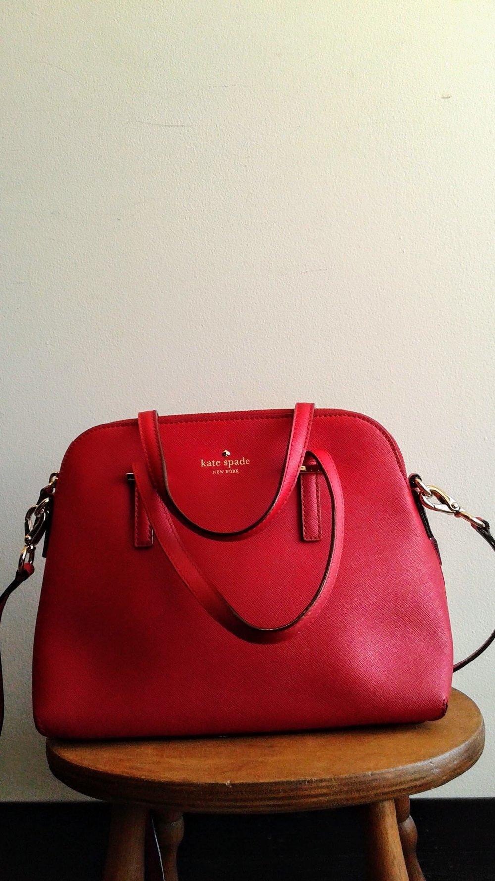 Kate Spade purse, $95