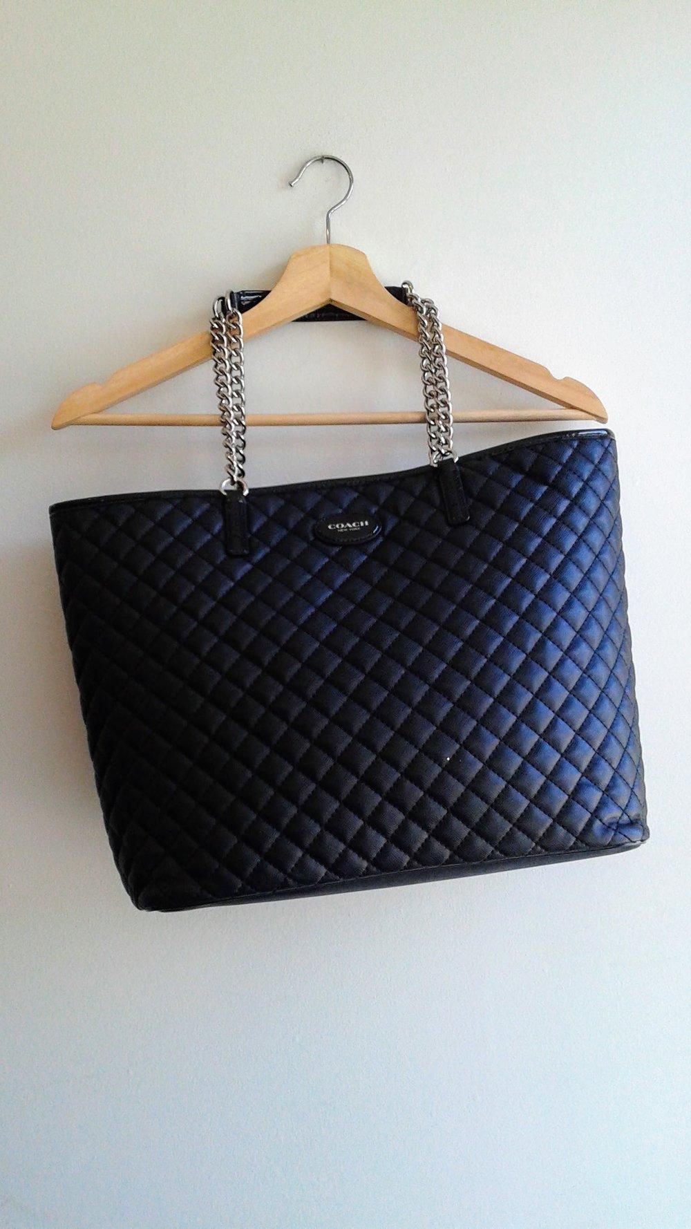 Coach bag, $110