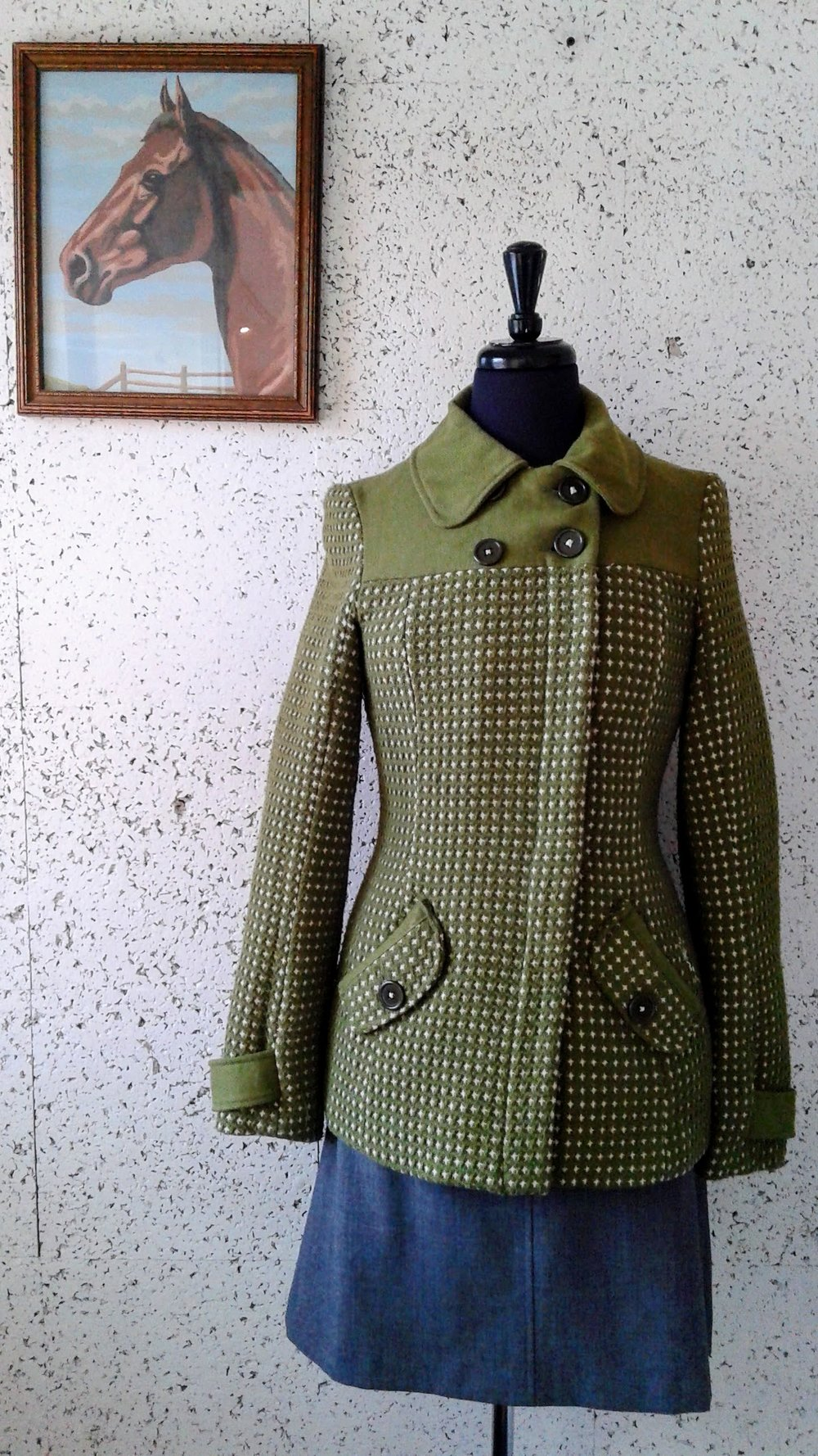 Billabong coat; Size M, $40