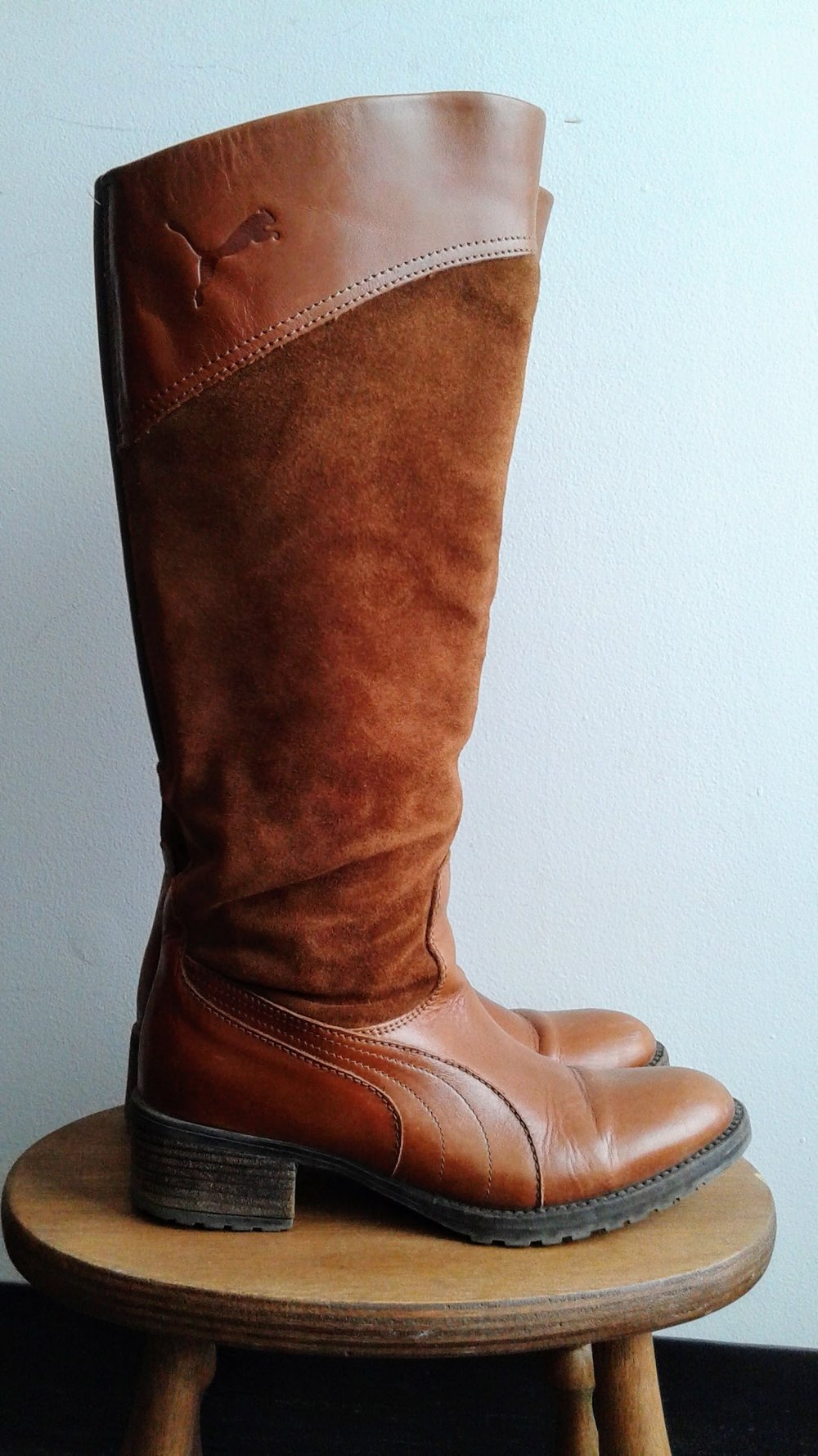 Puma boots; S6, $62