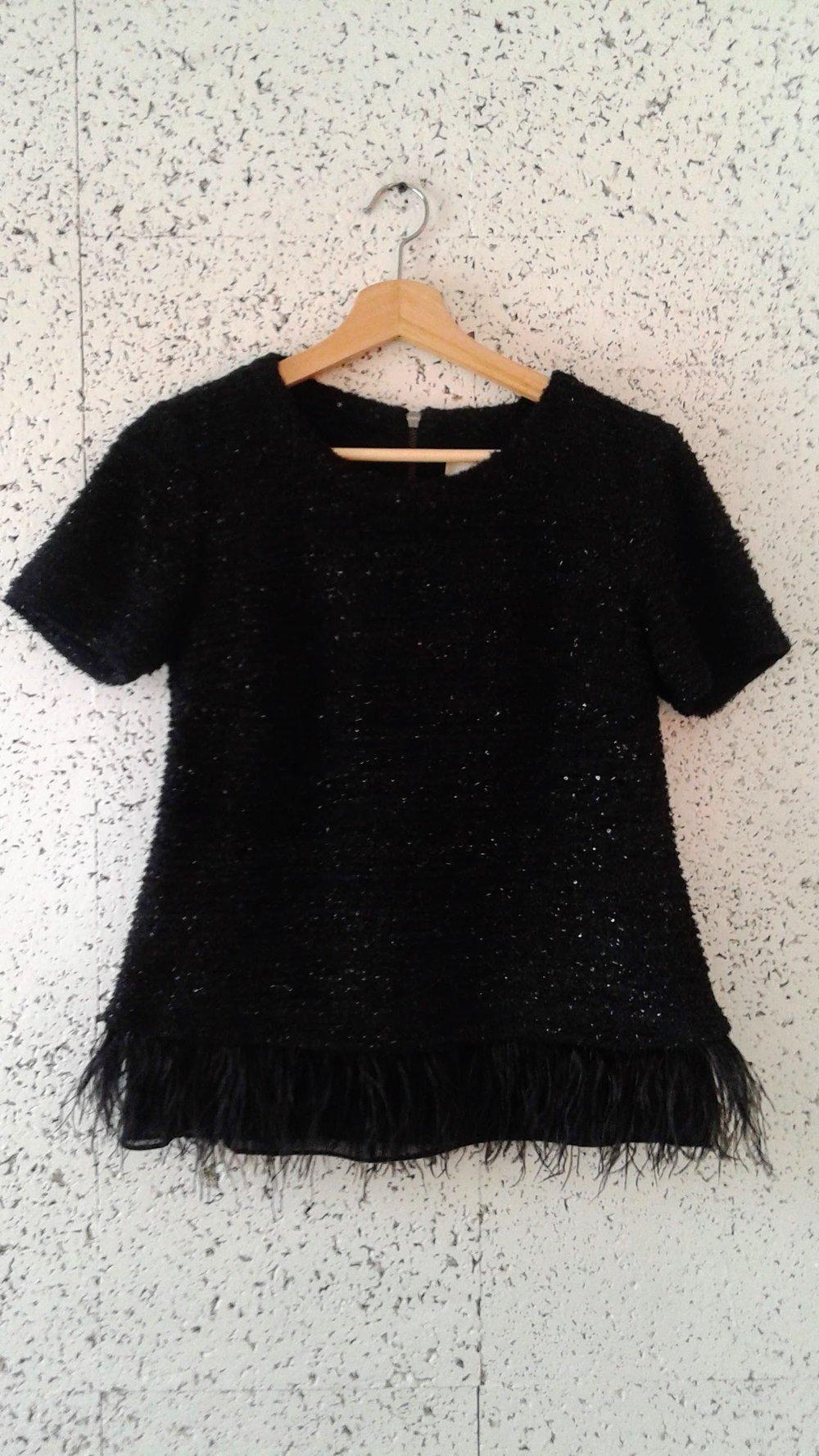 Deletta top; Size S, $32
