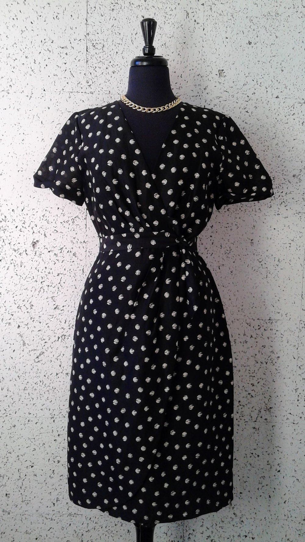 J Crew dress; Size 8, $58. Necklace $16