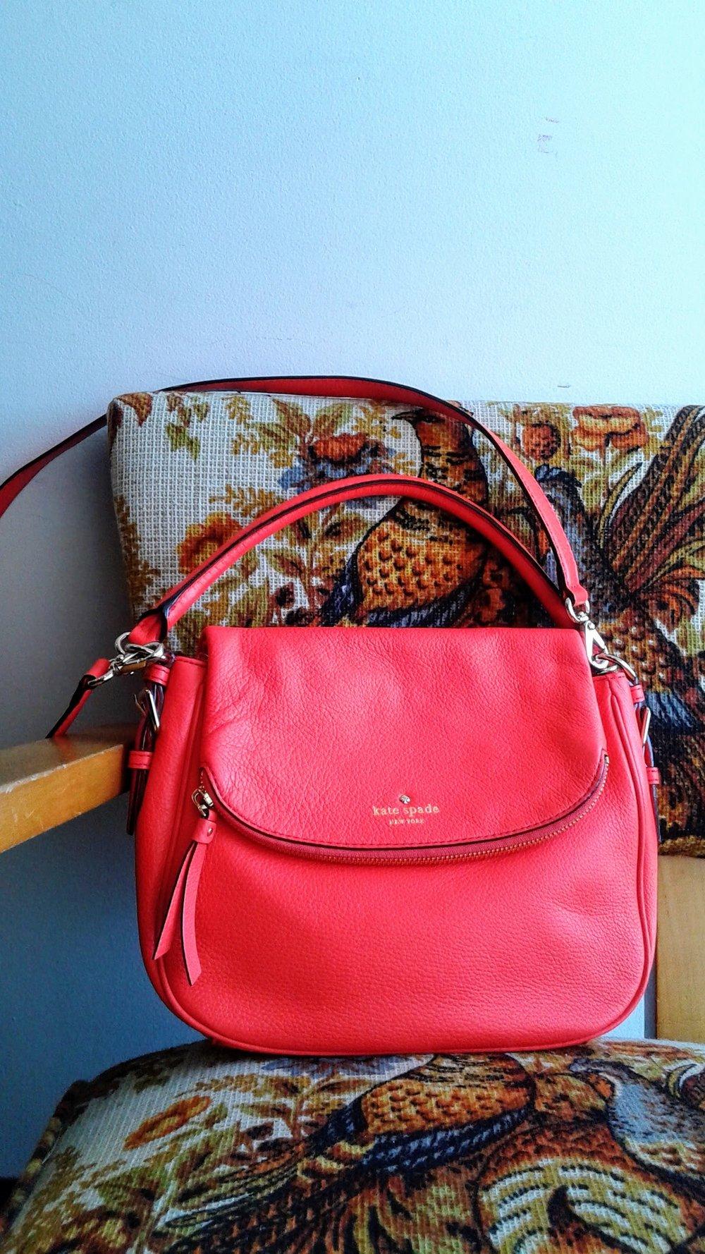 Kate Spade purse, $150