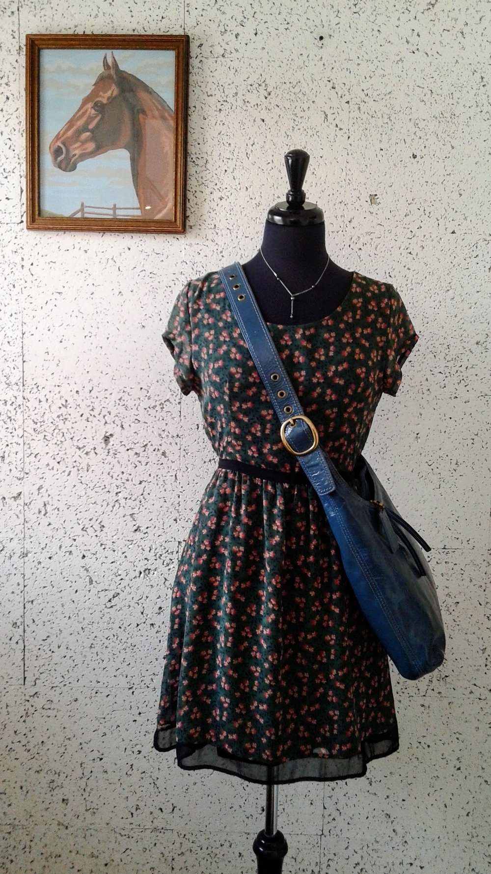 Ezra dress; Size S, $26. Coach bag, $48
