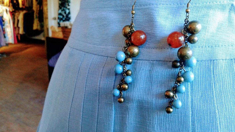 Earrings, $16