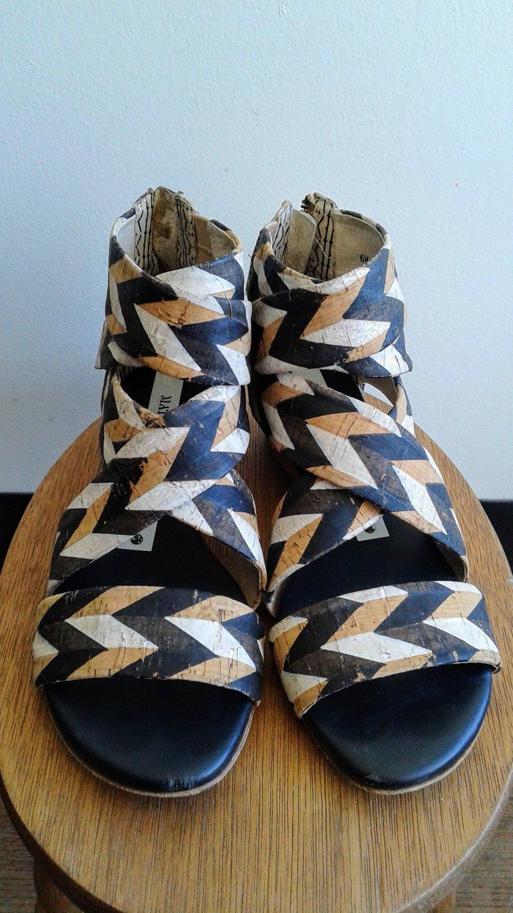 Matt Bernson sandals; S6, $42