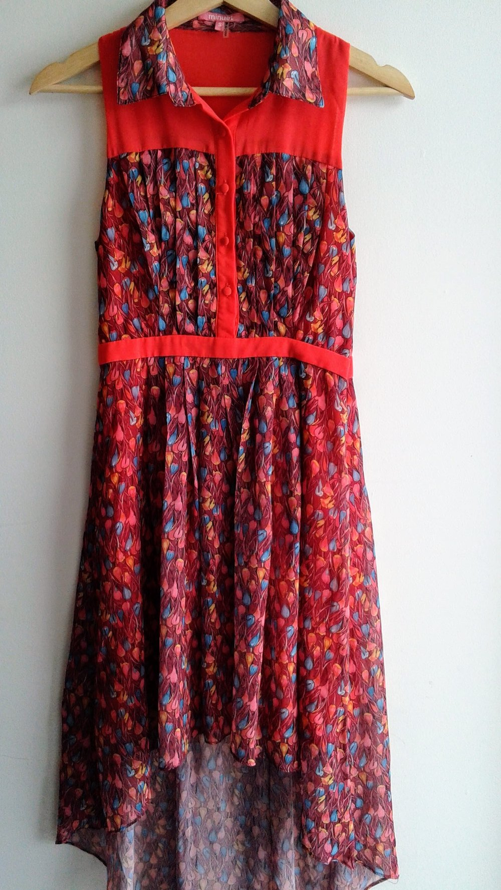 Minuet dress; Size S, $28