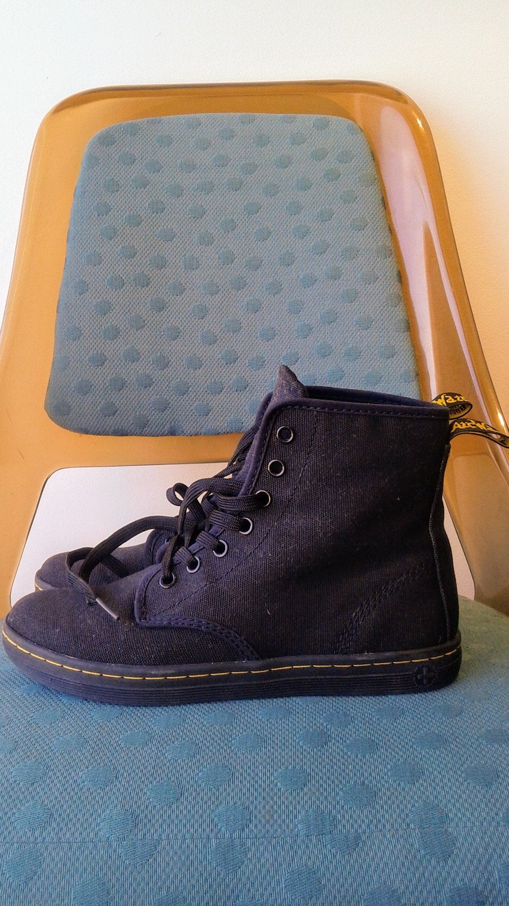 Dr Martin shoes; S7.5, $42