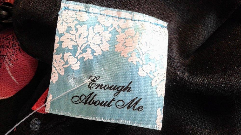 Enough About Me!
