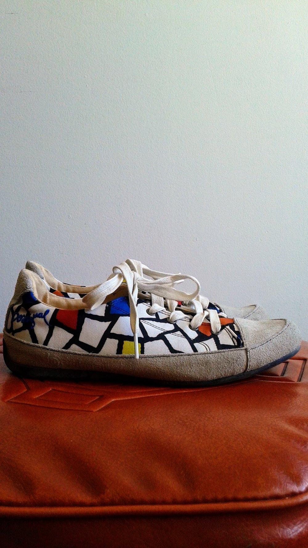 Desigual shoes; S6.5, $24