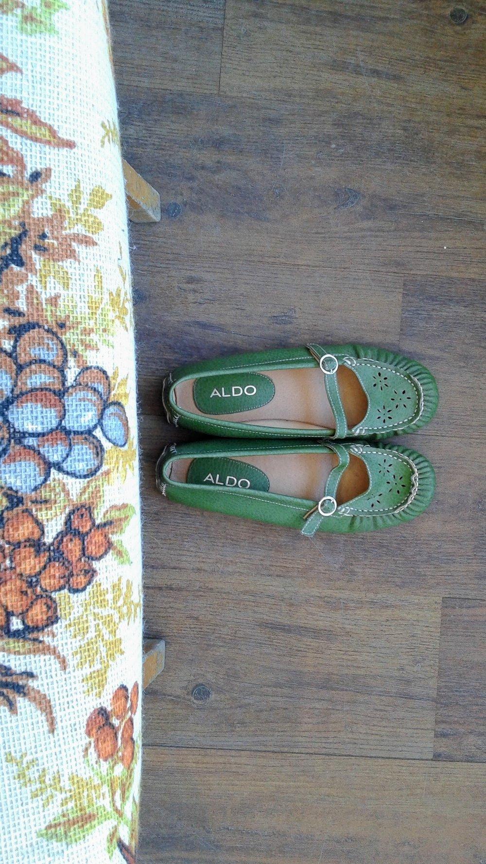 Aldo shoes; S7.5, $20