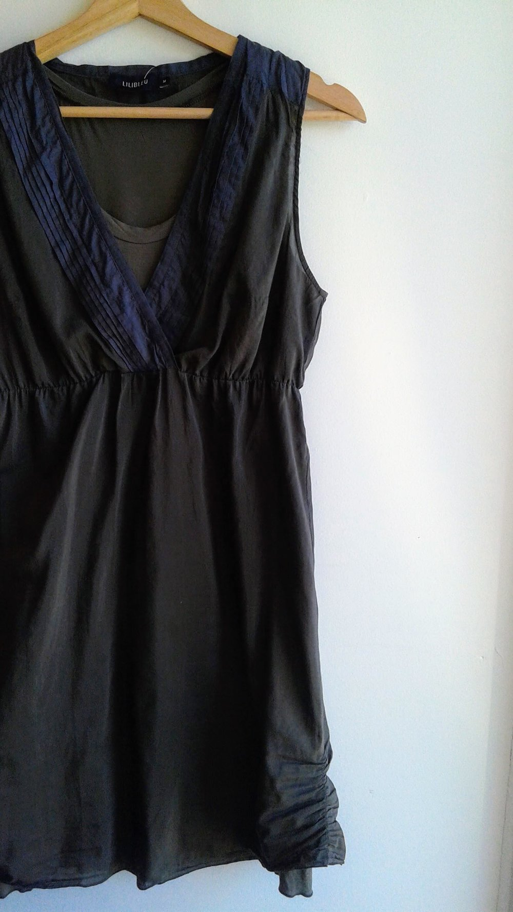Lilibleu dress; Size M, $32