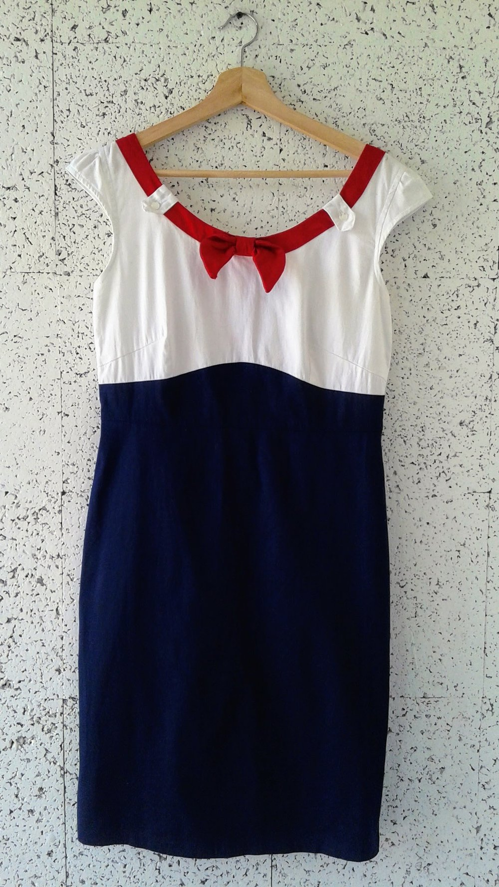 Steady dress; Size L, $34