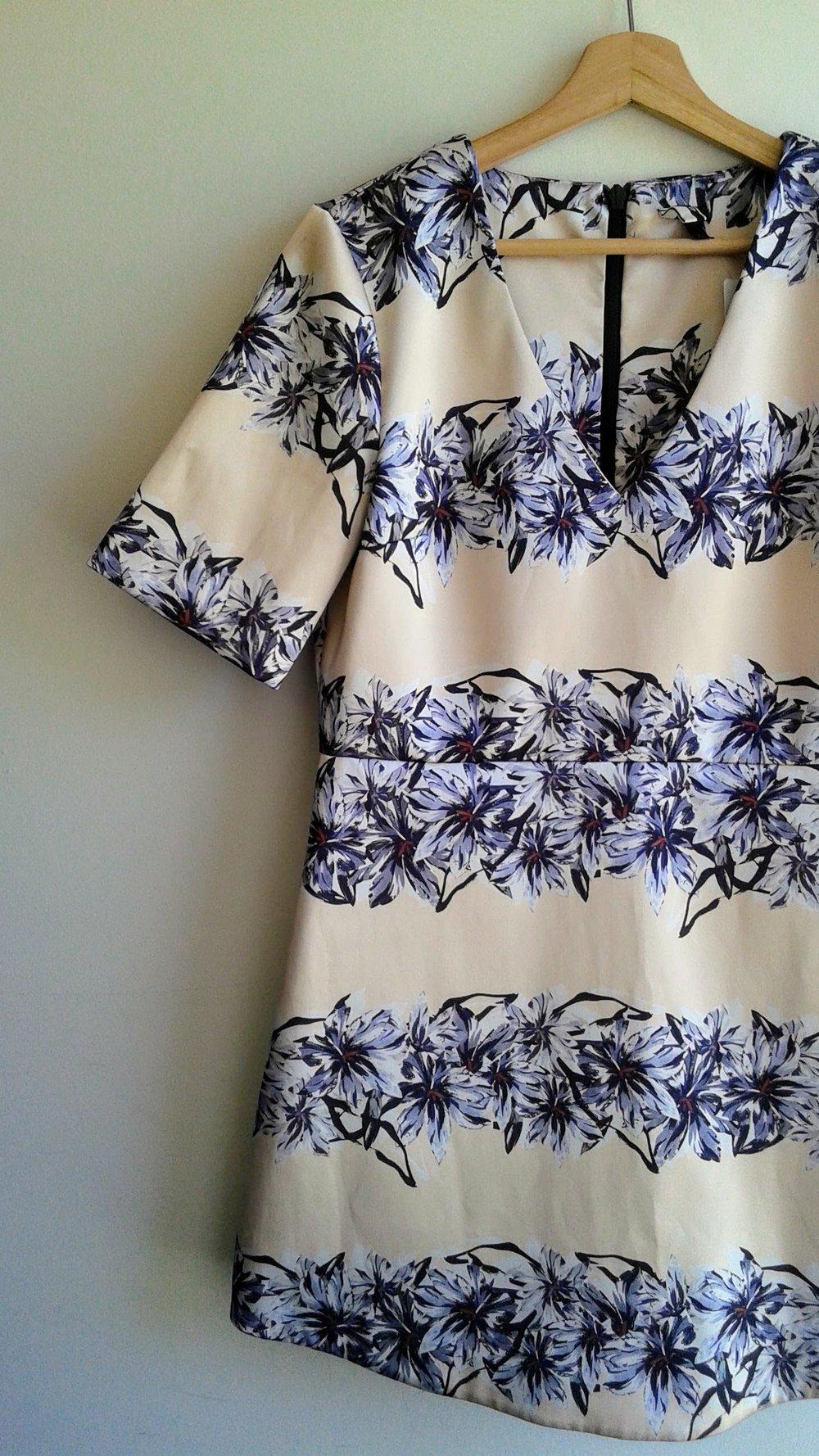 Topshop dress; S8, $38
