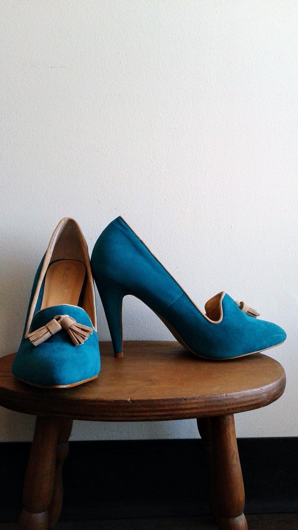 Shoedazzle shoes; S7.5, $26