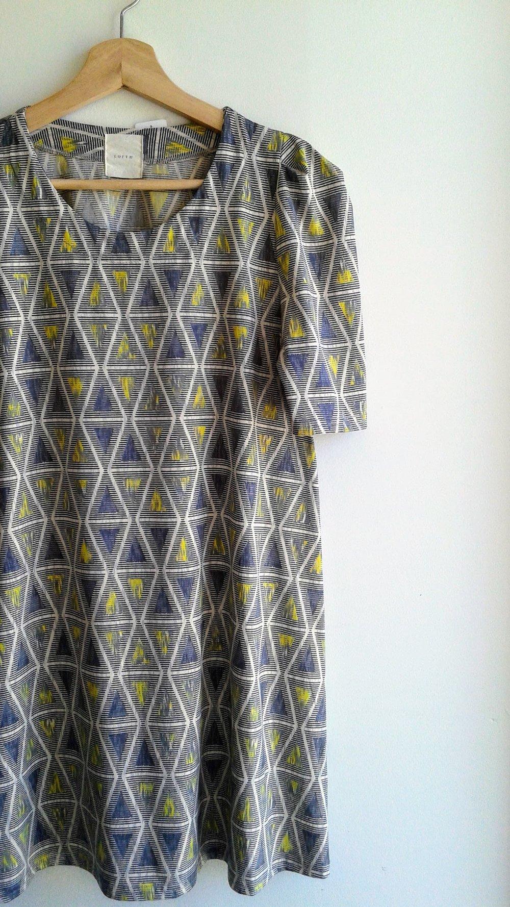 Loft 82 dress; Size S, $36