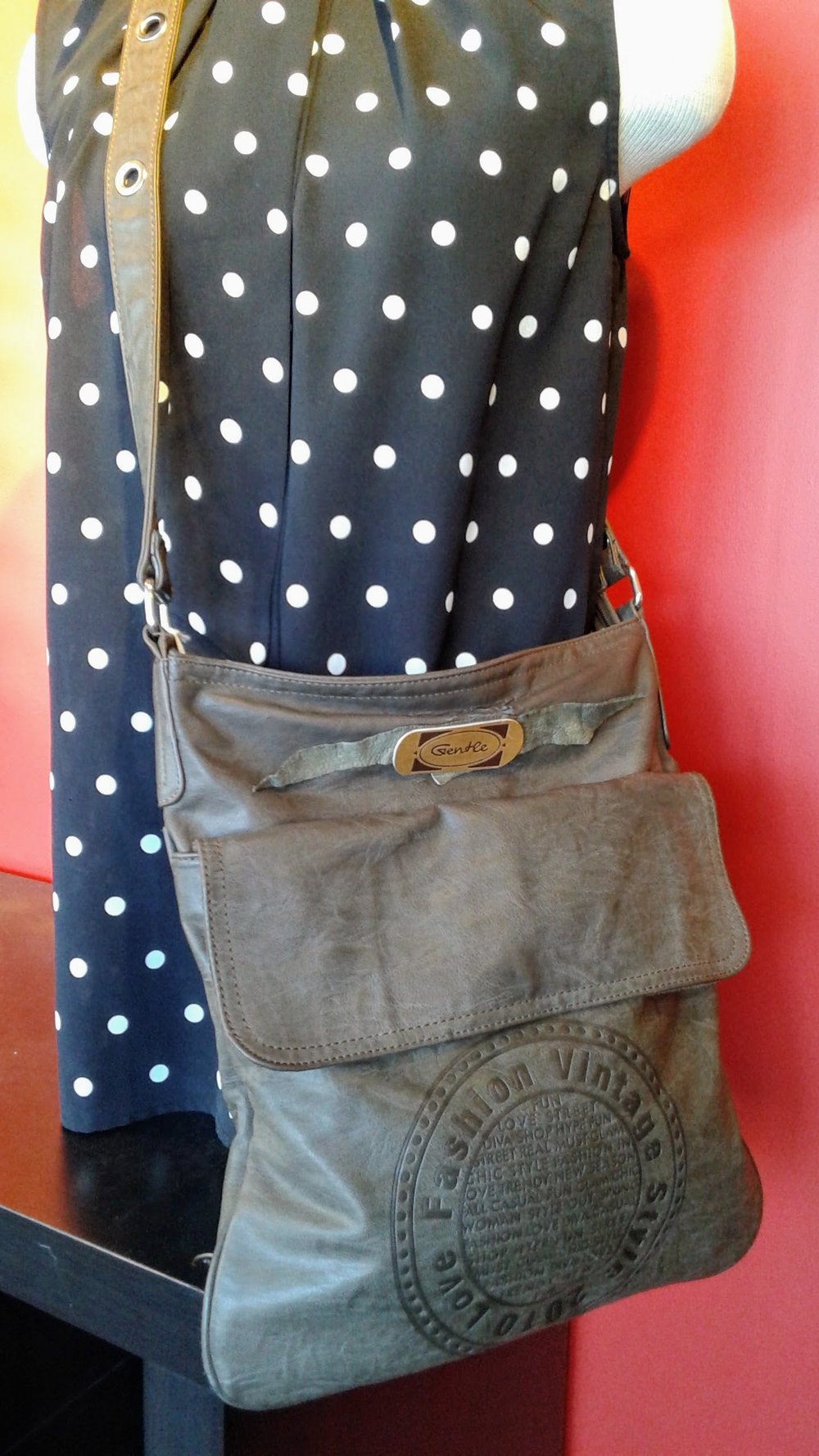 Gentle Vintage cross-body bag, $18